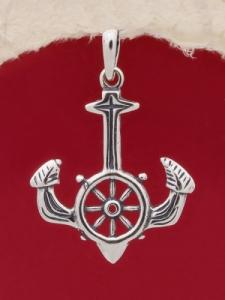 Сребърен медальон - P457