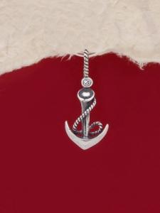 Сребърен медальон - P459
