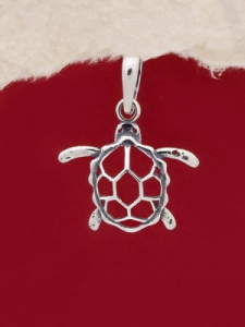 Сребърен медальон - P469