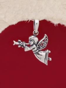 Сребърен медальон - P474