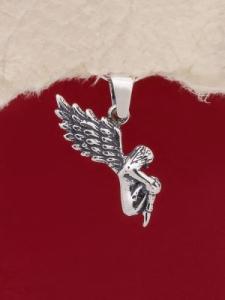 Сребърен медальон - P475
