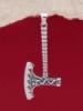 Сребърен медальон - P511