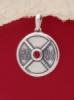 Сребърен медальон - P501