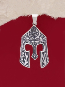Сребърен медальон - P508