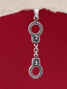 Сребърен медальон - P506