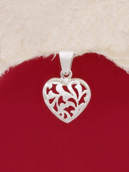 Сребърен медальон - PK383