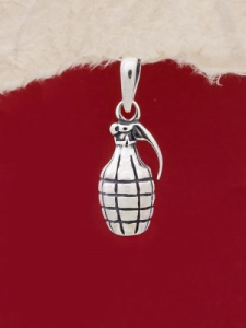 Сребърен медальон - P516