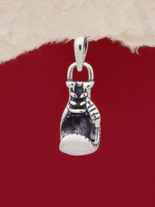 Сребърен медальон - P503