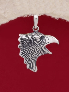 Сребърен медальон - P490