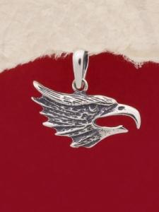 Сребърен медальон - P489