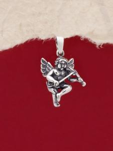 Сребърен медальон - P476