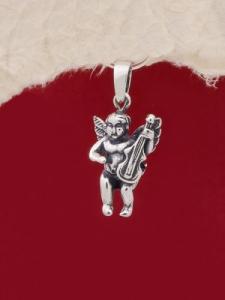 Сребърен медальон - P477