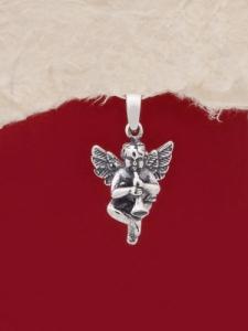 Сребърен медальон - P478
