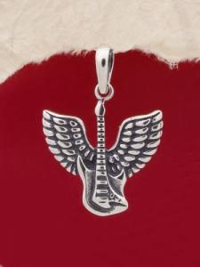 Сребърен медальон - P484