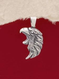 Сребърен медальон - P488