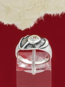 Сребърен пръстен - R478