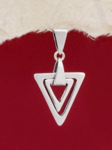 Сребърен медальон - PK46