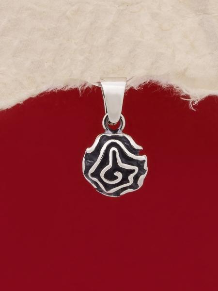 Сребърен медальон - PK394