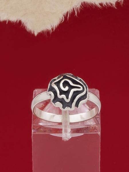 Сребърен пръстен - RK394