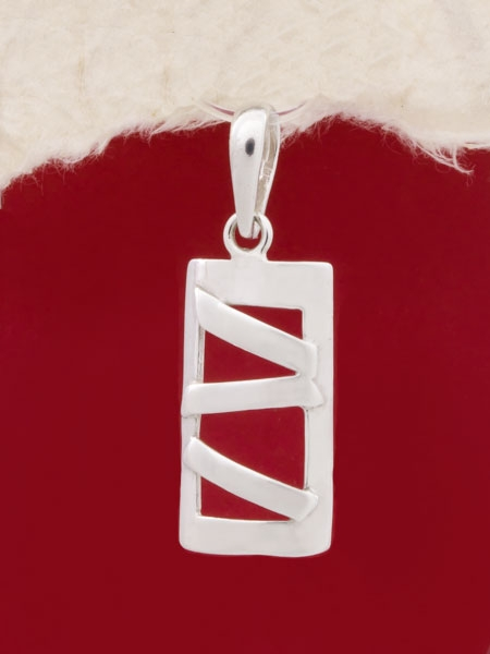 Сребърен медальон - PK196