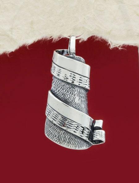Сребърен медальон - PK222