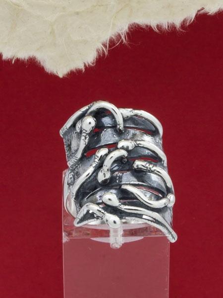Сребърен пръстен - RK225