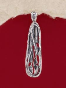 Сребърен медальон - PK214