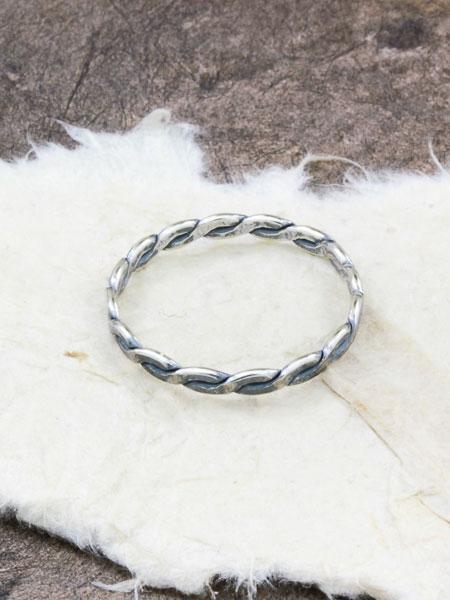 Сребърен пръстен - SR33