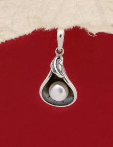 Сребърен медальон - PK390