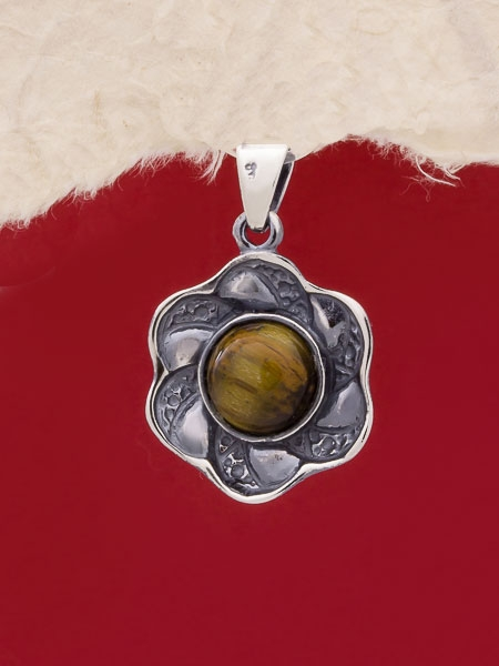 Сребърен медальон - PK41