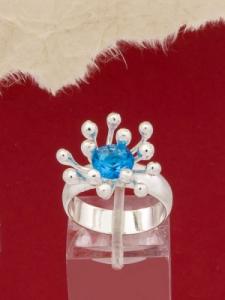 Сребърен пръстен - RK370
