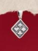 Сребърен медальон - P499