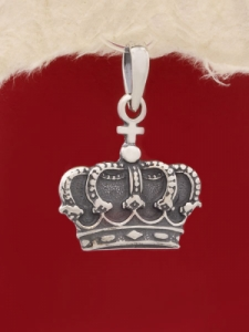 Сребърен медальон - P431