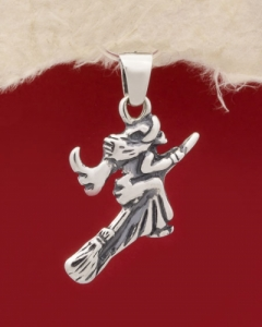 Сребърен медальон - P429