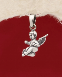 Сребърен медальон - P424