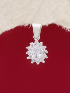 Сребърен медальон - PK397