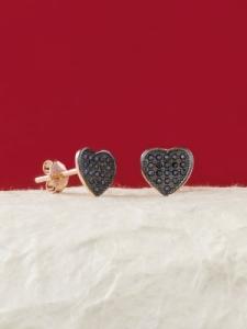 Сребърни минималистични обеци - E026T-B