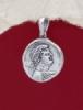 Сребърен медальон - P520