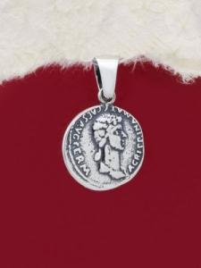Сребърен медальон - P518