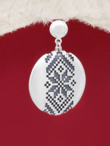 Сребърен медальон - P172102