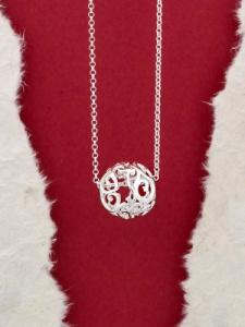 Сребърен медальон - P180642