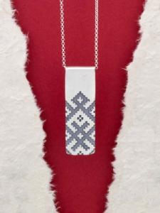 Сребърен медальон - P172653