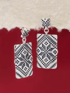 Сребърни обеци - E131103