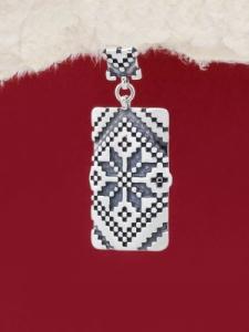 Сребърен медальон - P172103