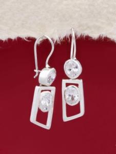 Сребърни обеци - E673S