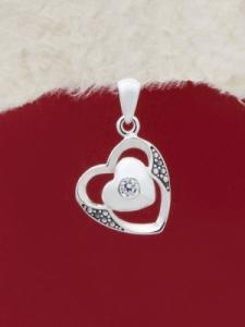 Сребърен медальон - P001S