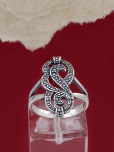 Сребърен пръстен - RK004S