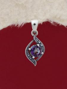 Сребърен медальон - PK010S