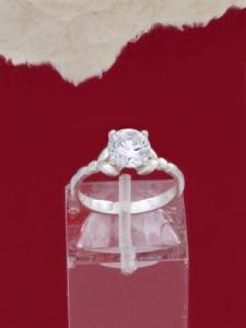 Сребърен пръстен - RK013S