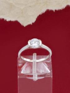 Сребърен пръстен - RK014S